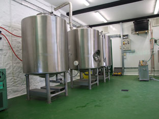The FILO Brewery - interior