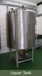 The FILO Brewery - liquor tank