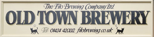 FILO Brewery sign